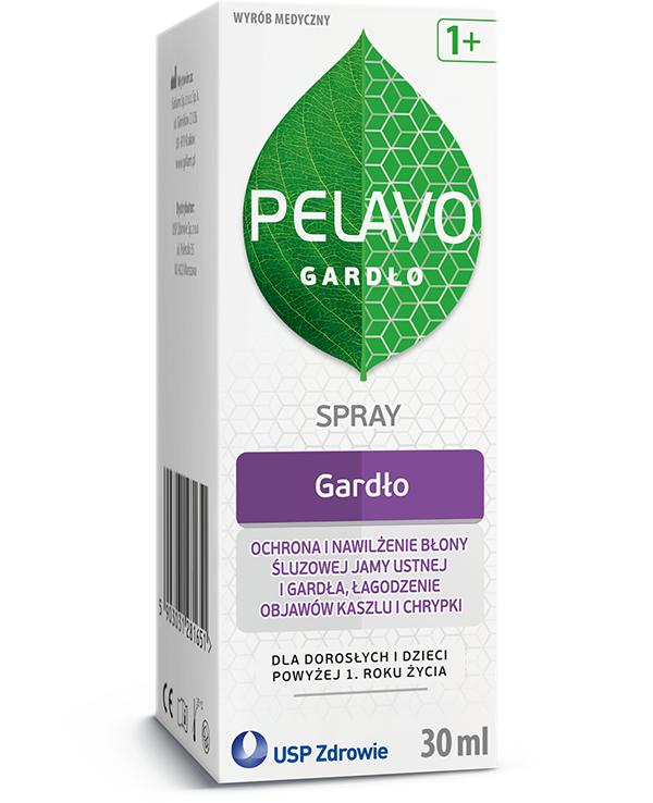 Pelavo Gardło Spray